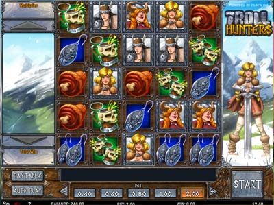 troll huntes slot review