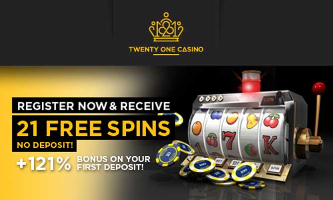 21 casino welcome bonus