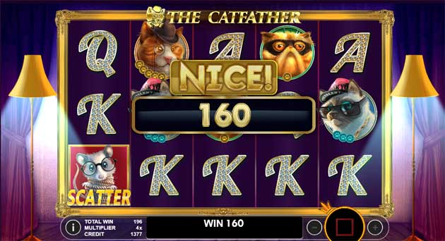 catfather online slot