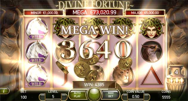 divine fortune bonus feature explained