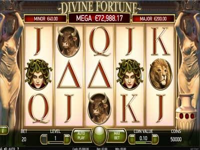 divine fortune netent slot review