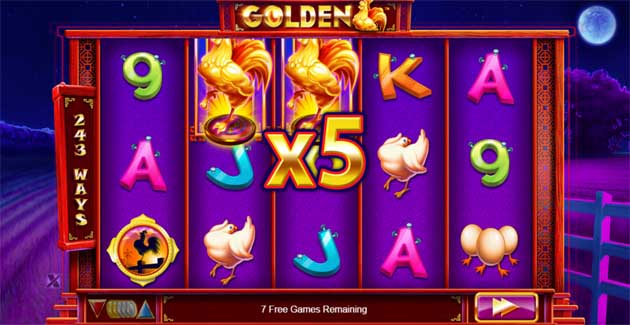 golden slot big win