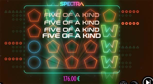 spectra online slot machine