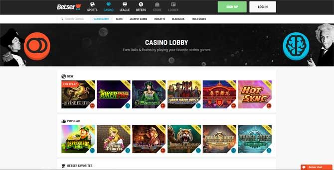 betser online casino