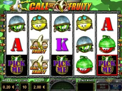 call of fruity online barcrest slot