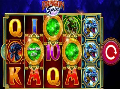 dragon spin online slot by bally