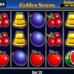 golden sevens online slot from novomatic