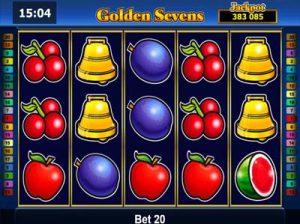 golden sevens online slot from novomatic