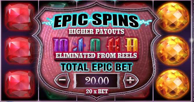 jewel strike epic spins explained