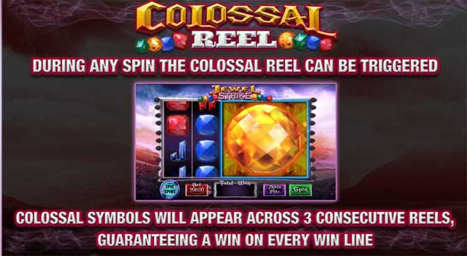jewel strike online slot bonus feature explained