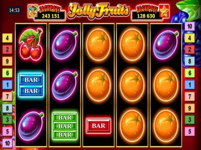 jolly fruits online jackpot slot machine