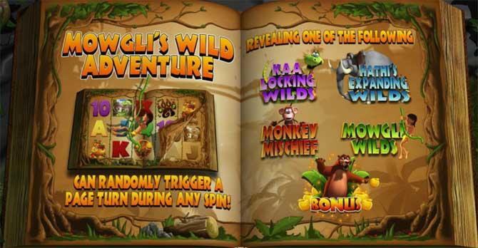jungle jackpots online slot bonus features explained