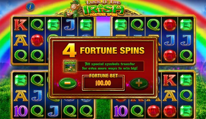 luck o the irish online slot