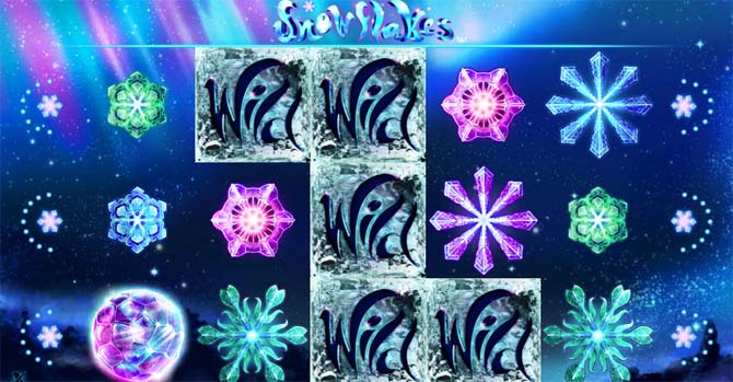 snowflakes online slot bonus feature explained