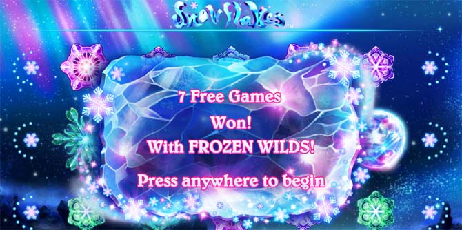snowflakes online slot