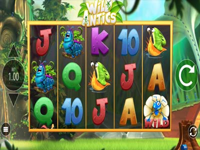 wild antics online slot by blueprint gaming