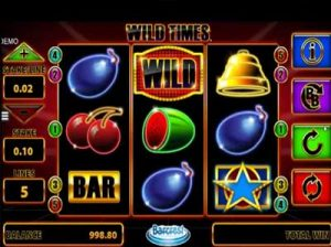 wild times online slot