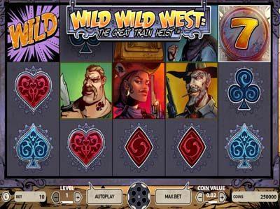 wild wild west online slot from netent