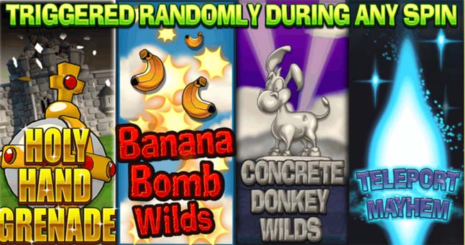 worms online slot bonus features explained