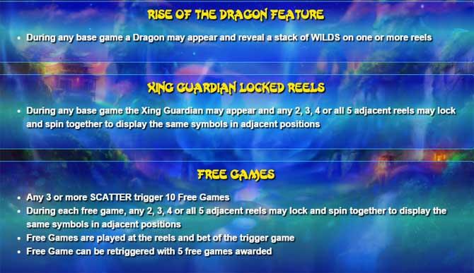 xing guardian online slot bonusfeature explained
