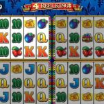 4 reel kings slot from novomatic