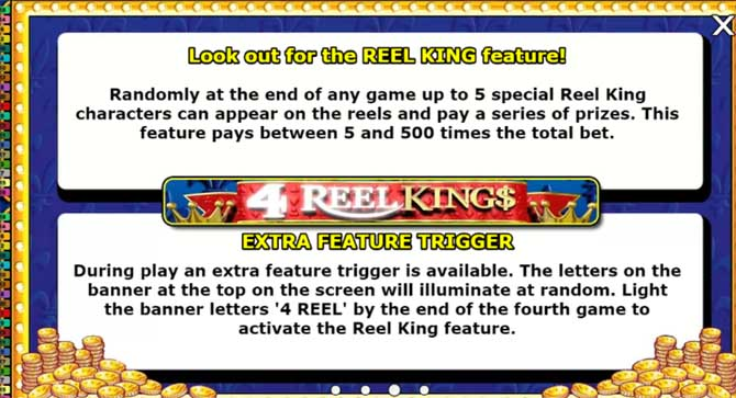 4 reel kings slots