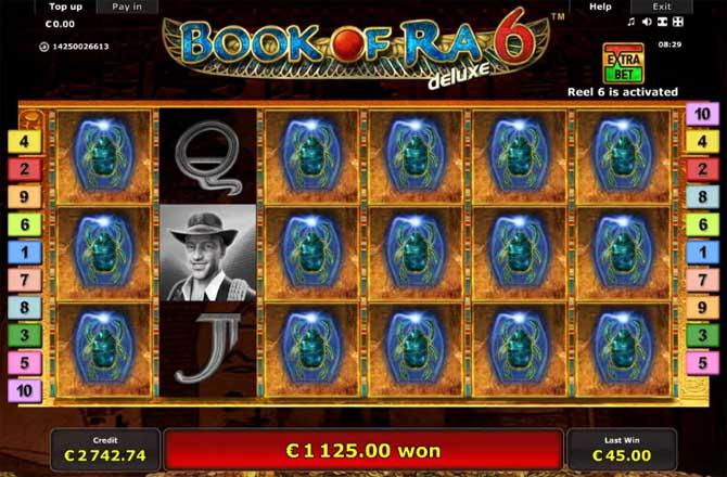 book of ra 6 online slot
