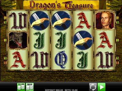 Dragon's Treasure slot - Casumo Casino