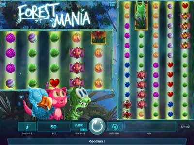 forest mania online slot machine