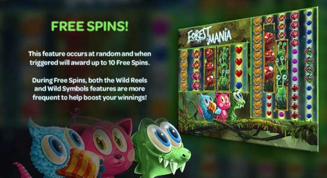 forest mania online slot