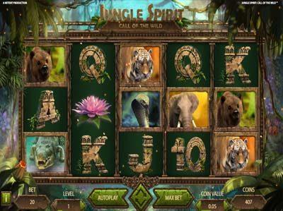 jungle spirit call of the wild online slot