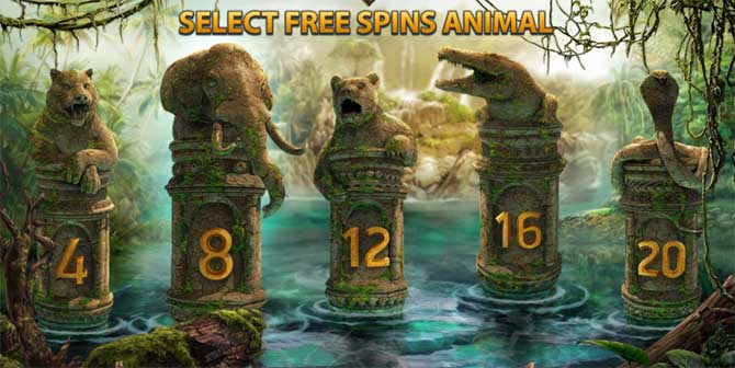 jungle spirit free spins bonus feature