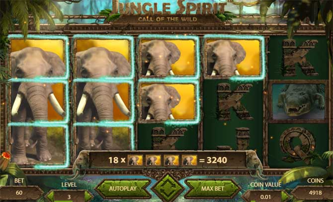jungle spirit netent slot