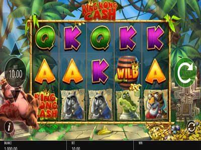 king kong cash online slot review