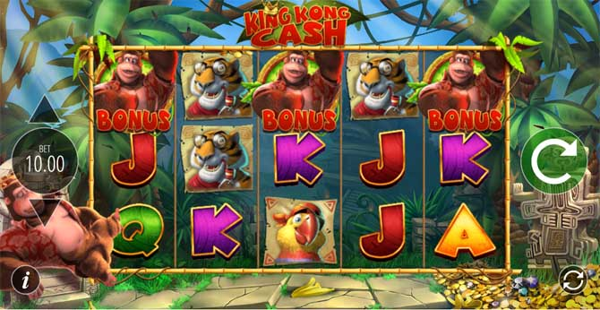 king kong cash by blueprint gaming