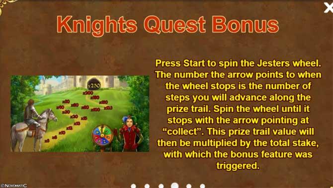 knights quest bonus