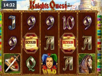 knights quest novomatic online slot
