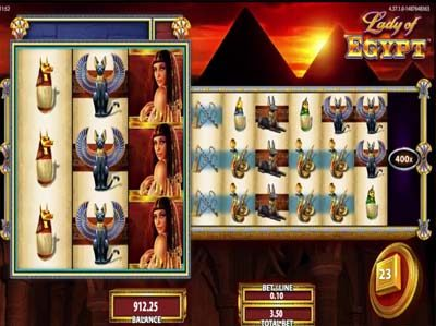 lady of egypt slot review