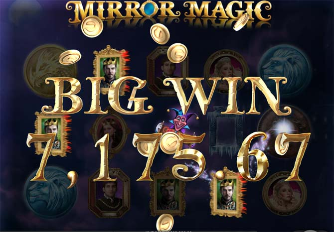 mirror magic slot big win