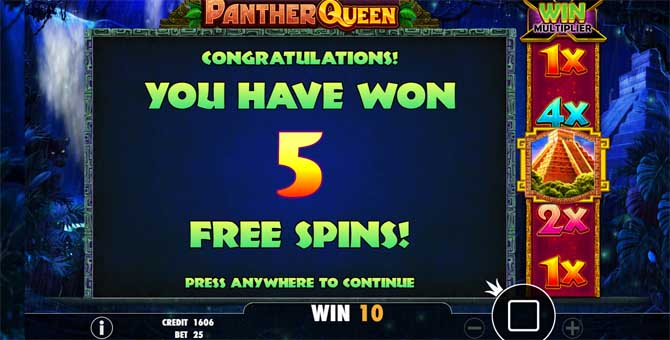 panther queen online slot