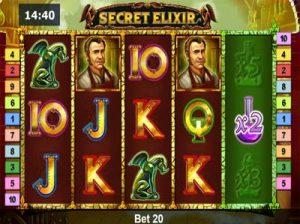 secret elixir online slot from novomatic