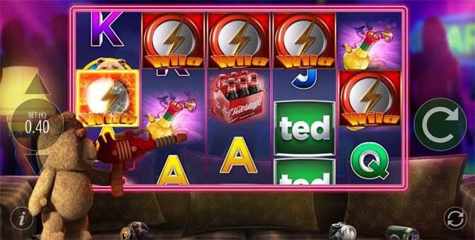 ted slot random bonus feature