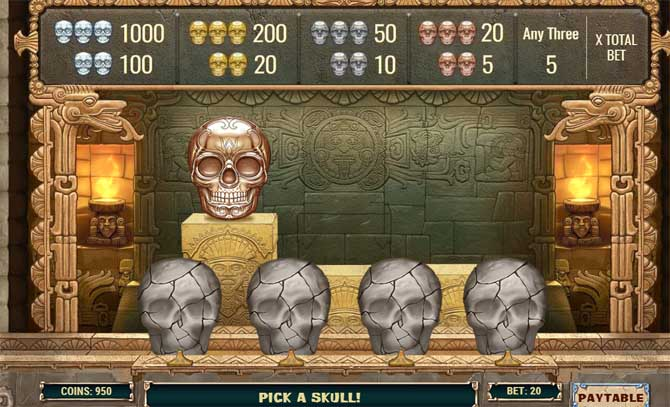 aztec warrior princess slot bonus feature