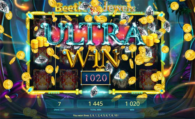 beetle jewels slot big win