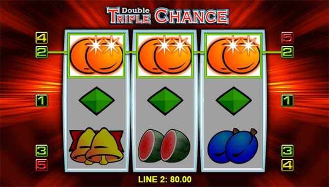 double triple chance slot win