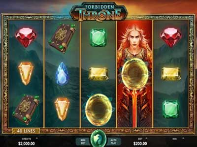 forbidden throne microgaming slot