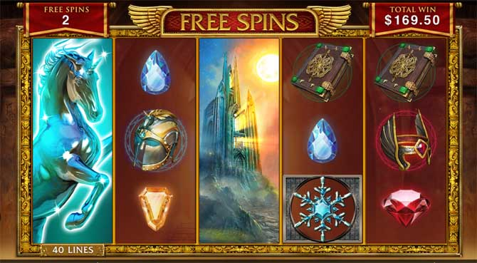 forbidden throne slot free spins bonus feature