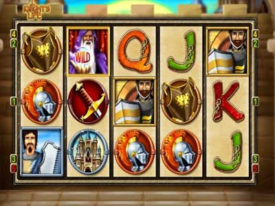 knights life online slot review