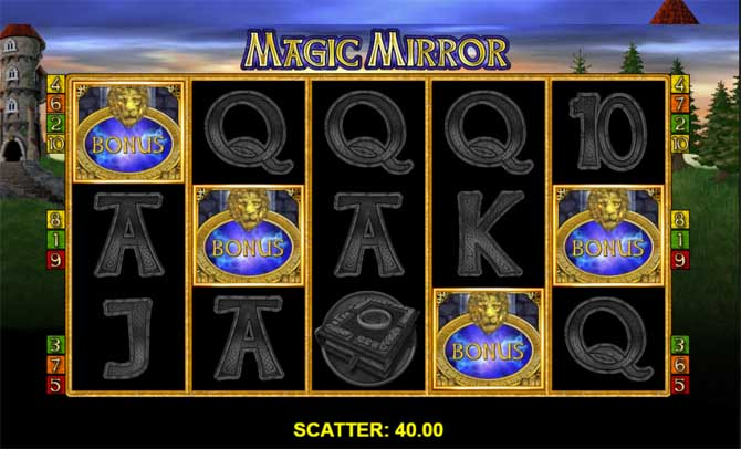 magic mirror online slot by merkur gaming