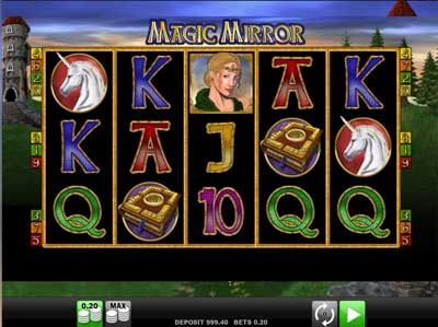 magic mirror online slot review